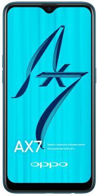 Смартфон Oppo AX7 64 Гб морская волна