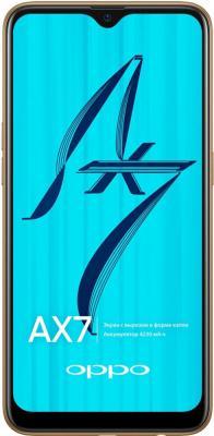 Смартфон Oppo AX7 64 Гб сияющие золото