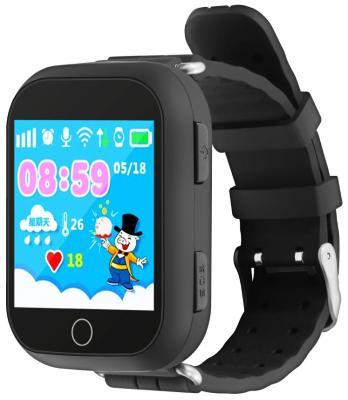 """Умные часы детские GiNZZU® GZ-503 black 1.54"""" Touch/Геолокация по WI-FI/GPS/LBS/Гео-зоны/Кнопка SOS/nano-SIM недорого"""