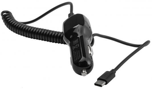 Автомобильное зарядное устройство Harper CCH-3118 USB USB-C 2.1A черный устройство зарядное автомобильное harper cch 3118