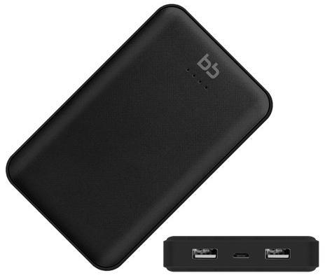 Внешний аккумулятор Power Bank 10000 мАч Nobby BB-PB-10-06 черный цена