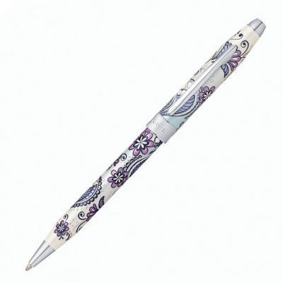 Ручка шариковая шариковая CROSS Сиреневая орхидея черный 0.7 мм шариковая ручка cross century classic lustrous chrome mblack 3502