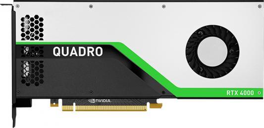 Проф видеокарта 8Gb <PCI-E> PNY nVidia Quadro RTX 4000 <GDDR6, 256 bit, 3*DP, Virtual Link, Retail>