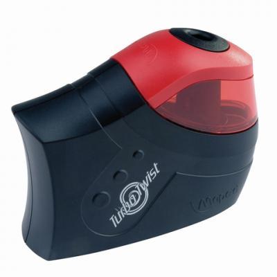 Точилка Maped Turbo Twist пластик черный/красный