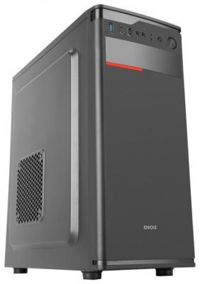 Корпус Sunpro DIOS III, ATX, 450Вт, черный, 3x USB2.0 , ДхШхВ: 398*196*423мм, 20+4-Pin, 4-Pin, 3*SATA, 2*MOLEX, FDD sunpro vista 3 450w white
