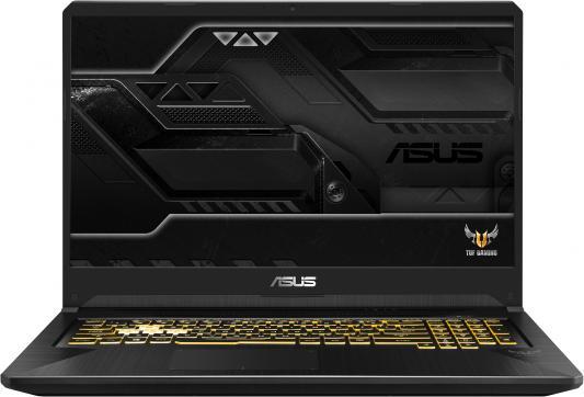 Ноутбук Asus FX705GE-EW240T i5-8300H (2.3)/16G/1T+256G SSD/17.3FHD AG IPS/NV GTX1050Ti 4G/noODD/Win10 Gunmetal, Metal ноутбук dell alienware 15 r4 i5 8300h 2 3 8g 1t 128g ssd 15 6 fhd ag ips nv gtx1060 6g backlit win10 a15 7695 silver