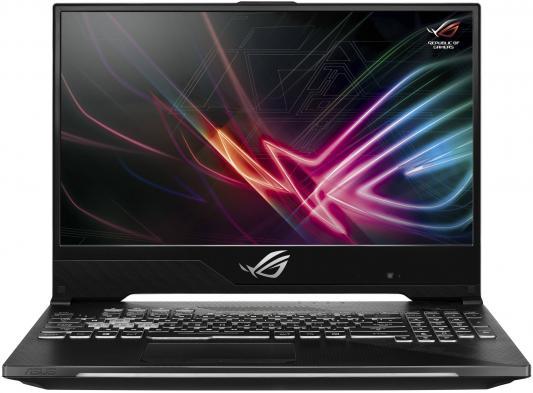 Ноутбук Asus GL504GM-ES329 SCAR II i5-8300H (2.3)/8G/1T+256G SSD/15.6 FHD AG IPS 144Hz/NV GTX1060 6G/noODD/BT/noOS Gunmetal ноутбук dell alienware 15 r4 i5 8300h 2 3 8g 1t 128g ssd 15 6 fhd ag ips nv gtx1060 6g backlit win10 a15 7695 silver