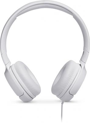 Гарнитура JBL Tune 500 белый JBLT500WHT гарнитура