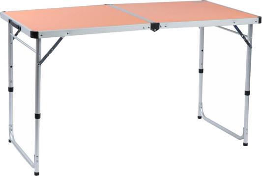 Стол походный Camping World Funny Table Orange (цвет оранжевый, чехол, допустимая нагрузка до 30 кг, размер 120х60х53/62/70 см) цена в Москве и Питере