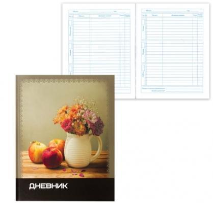 Дневник для старших классов BRAUBERG Нежные цветы линейка твердый переплет brauberg brauberg рюкзак для старших классов узоры цветы