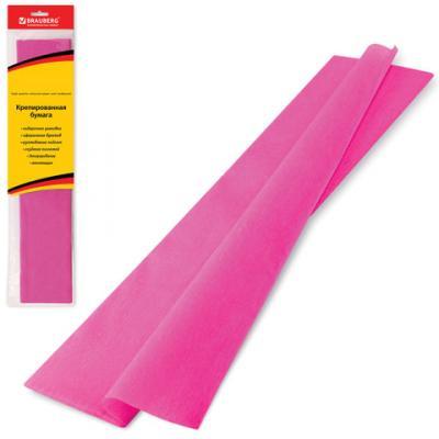 Цветная бумага крепированная BRAUBERG Цветная бумага крепированная, стандарт 200х50 см рулон