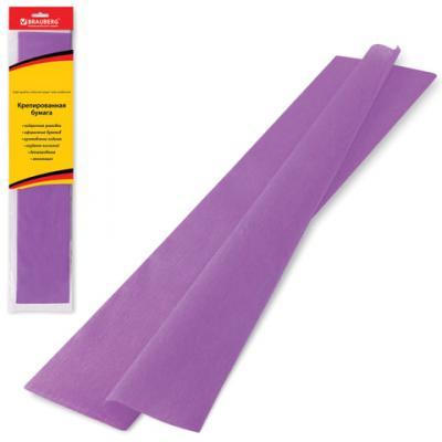 Цветная бумага крепированная BRAUBERG Цветная бумага крепированная стандарт 200х50 см рулон