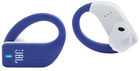 JBL Endurance Peak Bluetooth-наушники (гарнитура), голубой цена