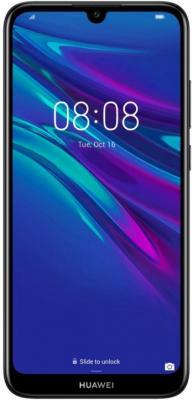 Смартфон Huawei Y6 2019 32 Гб черный шоколад lindt excellence темный с кусочками апельсина 100г