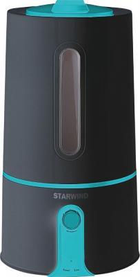 Увлажнитель воздуха StarWind SHC1331 чёрный бирюзовый увлажнитель воздуха starwind sap2111