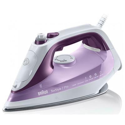 лучшая цена Утюг Braun SI7066VI 2600Вт фиолетовый