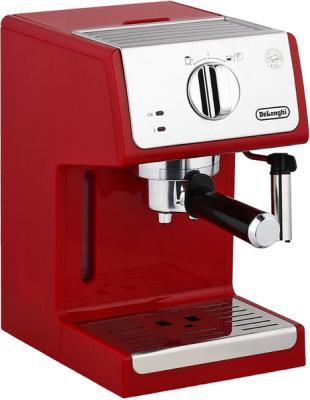 лучшая цена Кофеварка эспрессо Delonghi ECP33.21.R 1100Вт красный