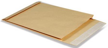 Конверт-пакет С4 объемный, 229х324х40 мм, из крафт-бумаги, с отрывной полосой, на 250 листов, 381227 эффективное дели 3423 5 крафт конверт почтовое отделение стандартный конверт 220 110мм 20 листов одного пакета