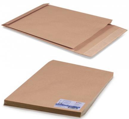 Конверт-пакет Е4+ объемный, комплект 25 шт.,300х400х40 мм, отрывная полоса, крафт-бумага, коричневый, на 300 листов, 302127.25 эффективное дели 3423 5 крафт конверт почтовое отделение стандартный конверт 220 110мм 20 листов одного пакета