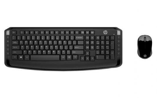 Клавиатура + мышь HP 300 USB беспроводная цены