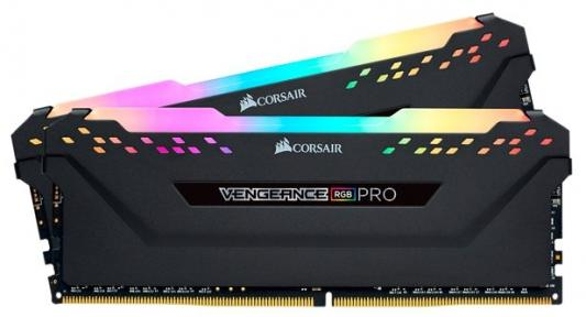 Память DDR4 2x8Gb 3200MHz Corsair CMW16GX4M2C3200C14 RTL PC4-25600 CL14 DIMM 288-pin 1.35В цена и фото