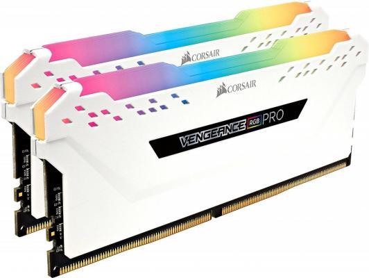 Оперативная память 16Gb (2x8Gb) PC4-21300 2666MHz DDR4 DIMM CL16 Corsair CMW16GX4M2A2666C16W память ddr4 2x8gb 2666mhz corsair cmu16gx4m2a2666c16r rtl pc4 21300