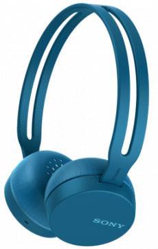 Гарнитура SONY WH-CH400 синий недорого