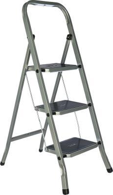 FIT РОС Лестница-стремянка стальная, 3 широкие ступени, Н=105 см, вес 4,7 кг [65382] цена
