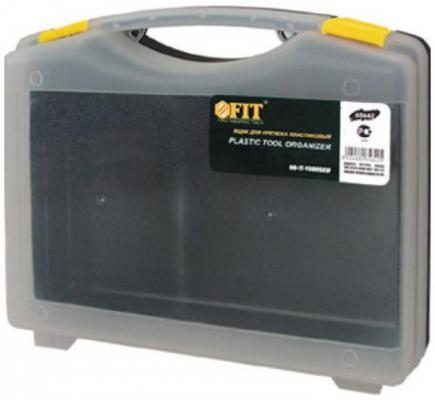 FIT РОС Ящик для крепежа (органайзер) прозрачный 10 (27 х 21 х 8 см) [65642] цена