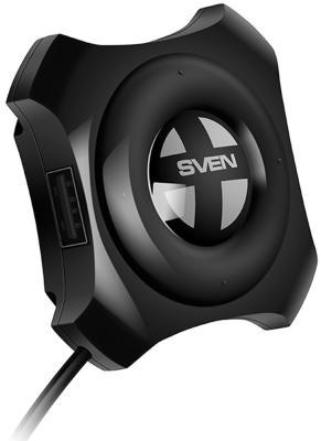цена на Концентратор USB Type A Sven HB-432 4 x USB 2.0 черный