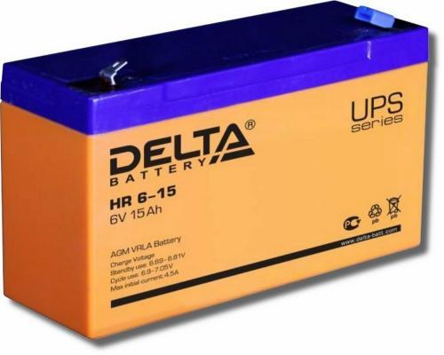 Delta HR 6-15 (15 А\\ч, 6 В) свинцово- кислотный аккумулятор wharfedale pro delta 15