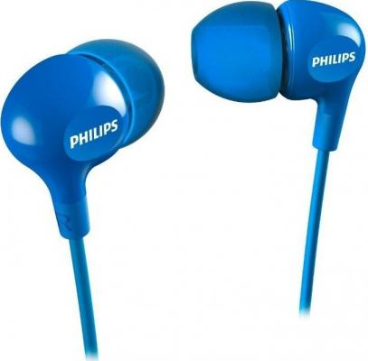 цена на Наушники Philips SHE3555BL/00 синий