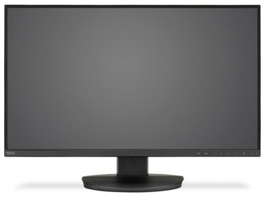 NEC 27 EA271U-BK LCD Bk/Bk (PLS; 16:9; 350cd/m2; 1300:1/9000:1; 5ms; 3840x2160; 178/178; 2 x HDMI; DP; USB; HAS 150mm; Swiv; Tilt; Pivot; Human Sensor; Spk 2x1W) dp de530 bk