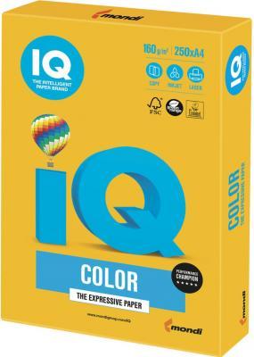 Цветная бумага IQ SY40 A4 250 листов цены онлайн