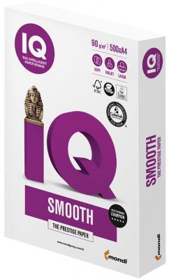 Бумага IQ SELECTION SMOOTH, А4, 90 г/м2, 500 л., класс А, Австрия, белизна 170% (CIE) бумага iq selection smooth а4 160g m2 250л а 110742