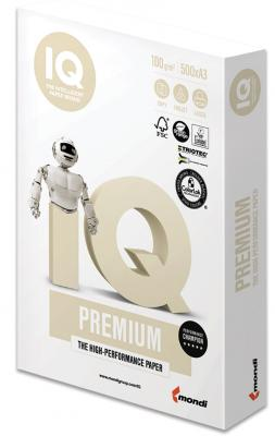Бумага IQ PREMIUM, А3, 250 г/м2, 150 л., класс А, Австрия, белизна 170% (CIE) цена
