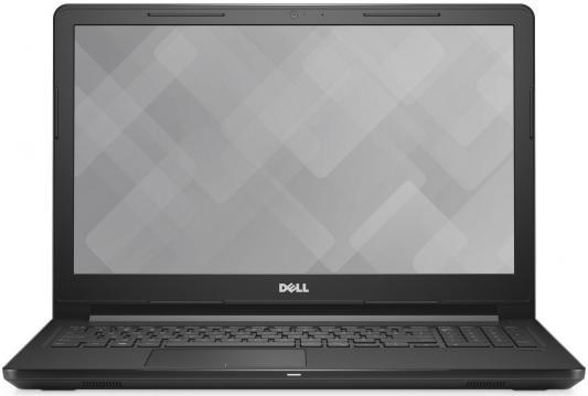 "Ноутбук Dell Vostro 3568 Core i5 7200U/4Gb/1Tb/AMD Radeon R5 M420X 2Gb/15.6""/HD (1366x768)/Windows 10 Professional Single Language 64/black/WiFi/BT/Cam dell vostro 3568 7763 15 6"