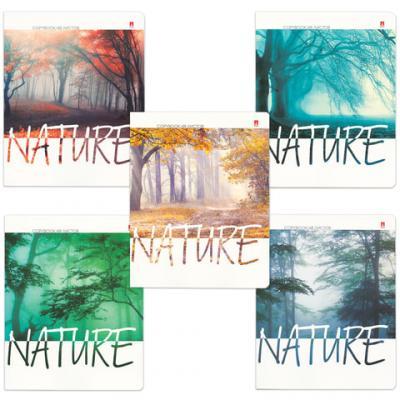 Тетрадь Альт Природа. Настроение 48 листов клетка скрепка альт тетрадь природа утро 48 листов клетка 5шт рисунок в ассортименте