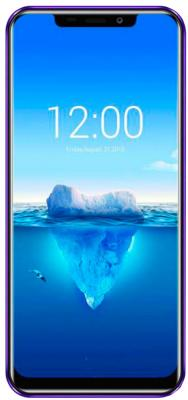 Смартфон Oukitel C12 PLUS 4G Purple 4 Core (1.3GHz)/2GB/16GB/6.18 996*480/8Mp+2Mp/5Mp/2Sim/3G/4G/BT/WiFi/GPS/Android oukitel k10000 5 5inch hd 4g lte android 5 1 2gb 16gb smartphone