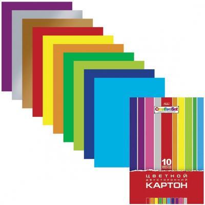 Фото - Набор цветного картона Hatber Creative A4 10 листов набор цветного картона hatber creative a4 10 листов 126945