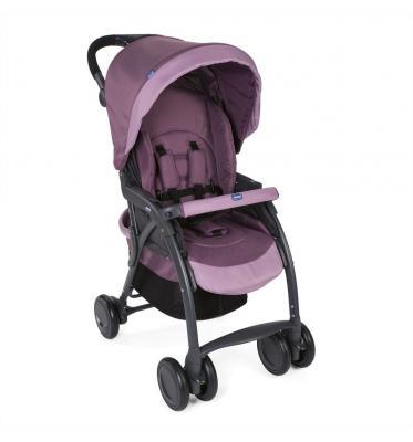 Прогулочная коляска Chicco SimpliCity Plus Top (lilac) коляска прогулочная chicco коляска simplicity plus top anthracite 54951