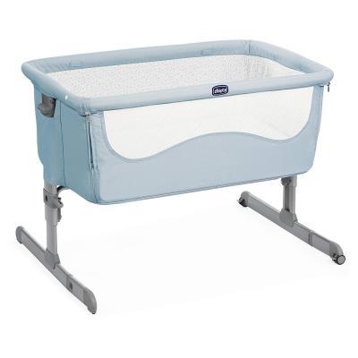 Купить Кроватка Chicco Next2Me (ocean), голубой, Классические