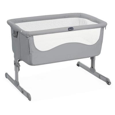 Купить Кроватка Chicco Next2Me (pearl), серый, Классические