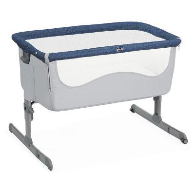 Купить Кроватка Chicco Next2Me (spectrum), серый, Классические
