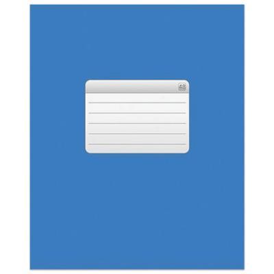 Картинка для Тетрадь Hatber ТЕТРАДЬ - Синяя 48 листов клетка скрепка
