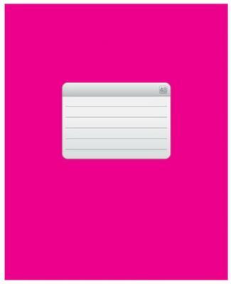 Тетрадь 48 л., HATBER VK, клетка, обложка мелованный картон, ТЕТРАДЬ - Розовая, 48Т5C1 12537, T158890 набор тетрадей hatber классика 12т5в2