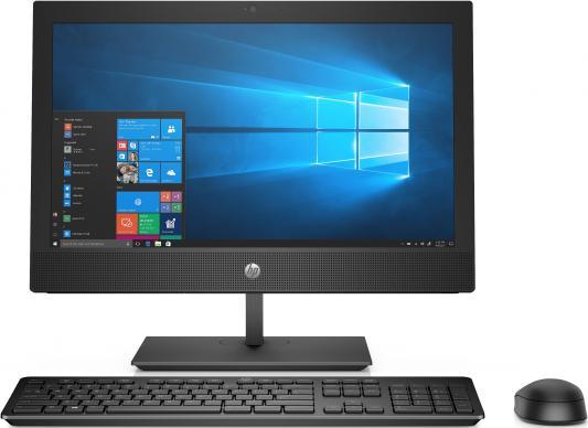 HP ProOne 400 G4 AiO 20(1600x900 (матовый))/Intel Celeron G4900(3.1Ghz)/4096Mb/500Gb/DVDrw/BT/WiFi/war 1y/W10Pro + Repl 2RT98ES hp proone 440 g4 aio 23 8 1920x1080 ips intel core i5 8500t 2 1ghz 8192mb 1000gb dvdrw wifi war 1y dos spec repl 1qm14ea