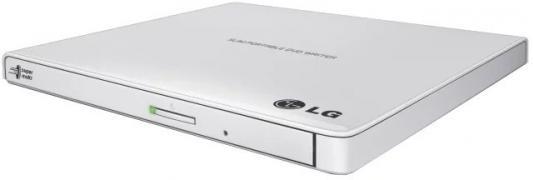 цена на Внешний привод DVD±RW LG GP57EW40 USB 2.0 белый Retail