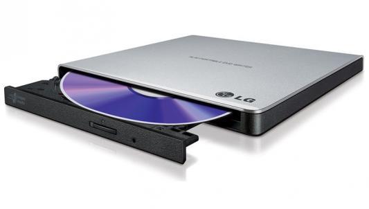 цена на Внешний привод Blu-ray LG GP57ES40 USB 2.0 серебристый OEM