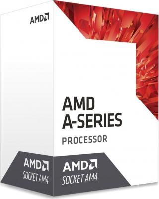 Процессор AMD A6 9400 AM4 (AD9400AGABBOX) (3.7GHz/AMD Radeon R5) Box процессор amd a6 7480 oem radeon r5 series 65w 2c 2t 3 8gh max 1mb fm2 ad7480aci23ab